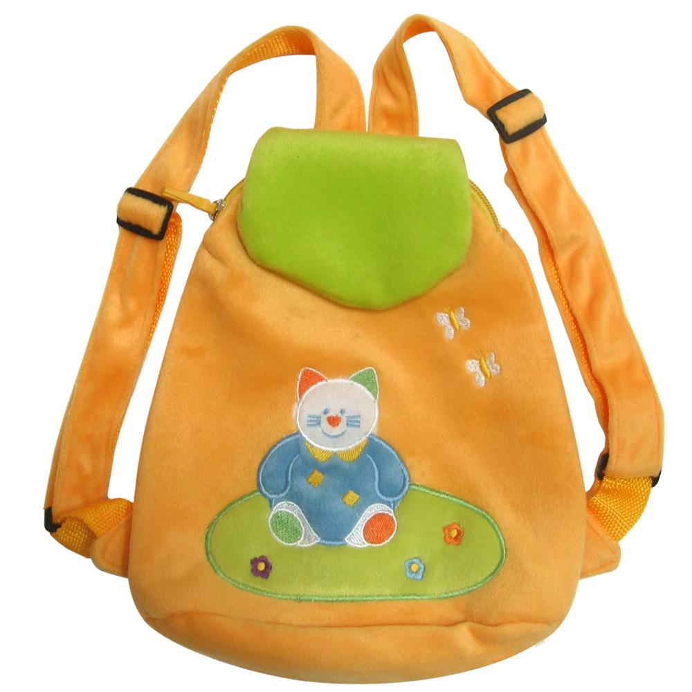 Рюкзак детский велюровый 25 см рюкзак lider kids