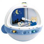 """Музыкальный ночник для детской кроватки """"Мишка-астроном""""  """"Care"""""""