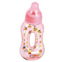 """Бутылочка-бублик """"Camera"""" розовая"""