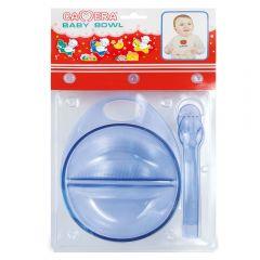 """Набор посуды ( тарелка. ложка. вилка ) цветной  """"Camera"""""""