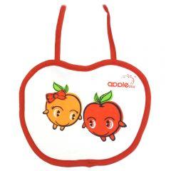 """Детский нагрудник """"Яблочки"""" на завязках """"Apple baby"""""""