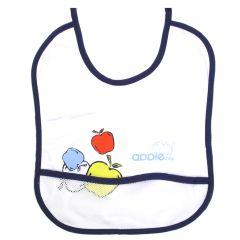 """Нагрудник с кармашком """"Apple baby"""""""