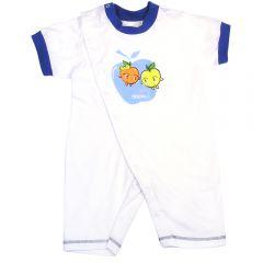 """Детский полукомбинезон с коротким рукавом """"Apple baby""""."""
