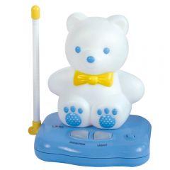 "Устройство звукового контроля за ребенком (радионяня со светильником ""Мишка"") 2 адаптора ТМ ""Care"""