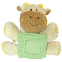 """Игрушка мягконабивная """"Коровка с рамочкой для фотографий"""" 12 см  """"Molli"""""""