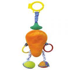 "Игрушка подвесная Зверюшка-Морковка ""Сказка"""