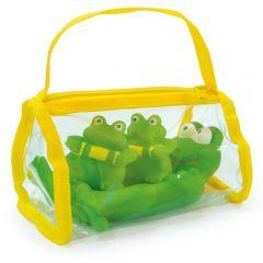 """Набор игрушек """"Лягушата"""" в сумочке (мыльница) """"Сказка"""""""
