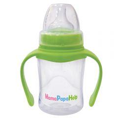 Бутылочка кормления MamaPapaHelp с ручками