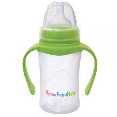 Бутылочка для кормления MamaPapaHelp с ручками